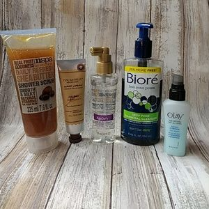 Vanity clearout! Beauty product assortment.